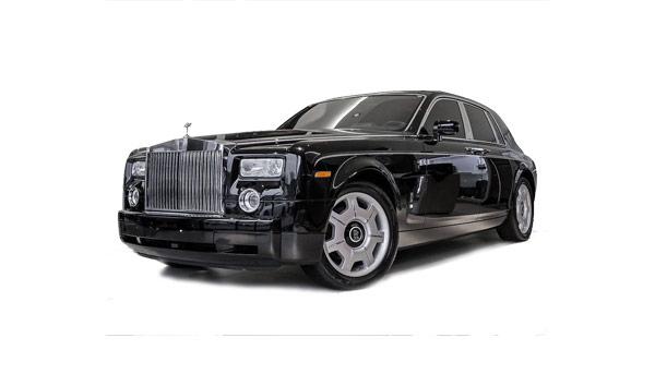 Rolls Royce Phantom schwarz mieten in Berlin
